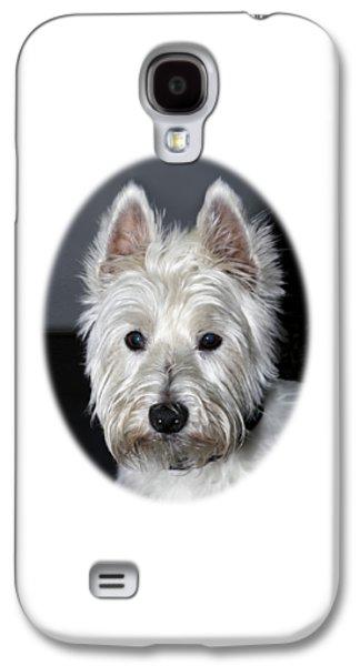 Mischievous Westie Dog Galaxy S4 Case