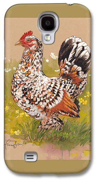 Miss Millie Fleur Galaxy S4 Case by Tracie Thompson