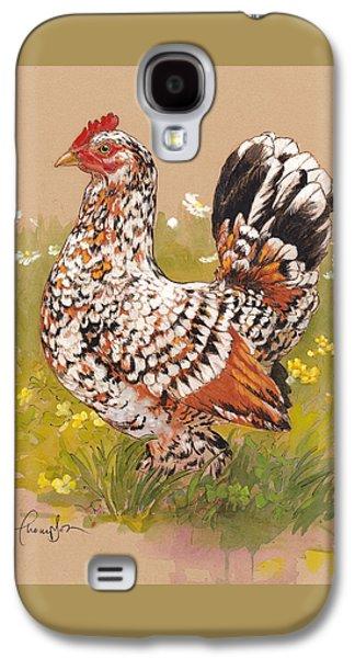 Chicken Galaxy S4 Case - Miss Millie Fleur by Tracie Thompson