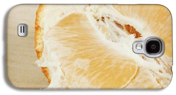 Orange Galaxy S4 Case - Tangelo by Nancy Ingersoll