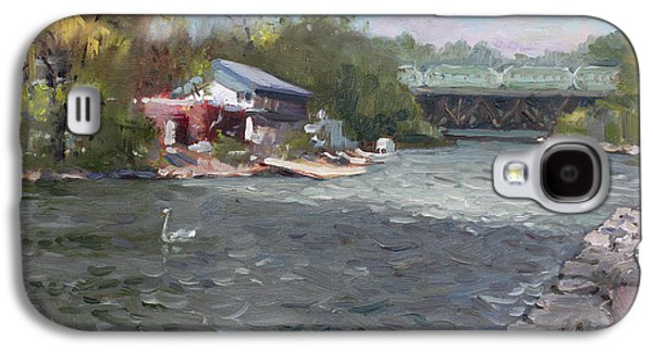 Mississauga Canoe Club Galaxy S4 Case by Ylli Haruni