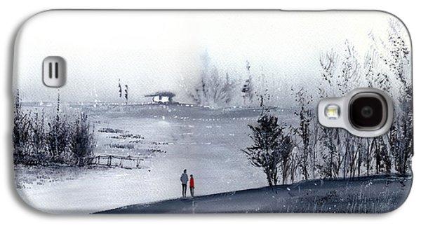 Mist Galaxy S4 Case by Anil Nene