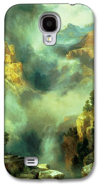 Mist In The Canyon Galaxy S4 Case by Thomas Moran