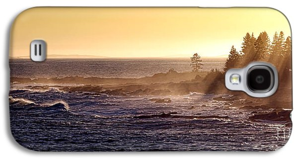 Mist Off The Coast Of Maine Galaxy S4 Case by Olivier Le Queinec