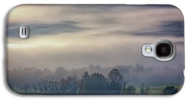 Misty Morning In Cades Cove Galaxy S4 Case