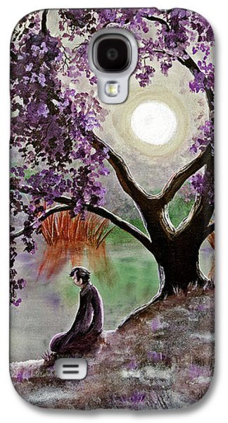 Misty Morning Meditation Galaxy S4 Case by Laura Iverson