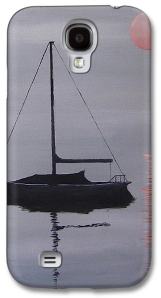 Misty Morning Mooring Galaxy S4 Case by Jack Skinner