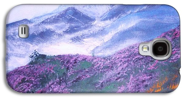 Misty Mountain Hop Galaxy S4 Case by Donna Dixon