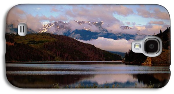 Galaxy S4 Case featuring the photograph Misty Mountain Morning by Karen Shackles