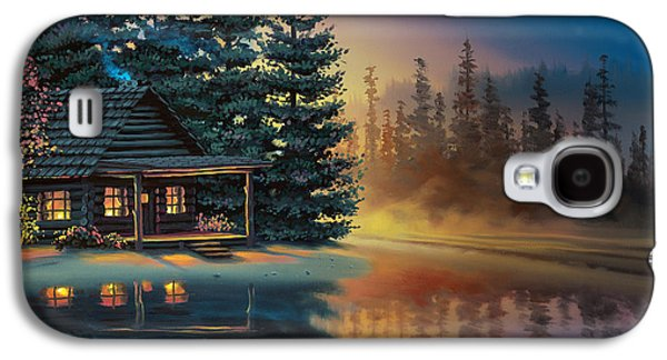 Misty Refection Galaxy S4 Case by Al Hogue