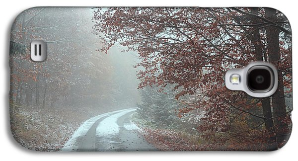 Misty Road. Series In Mysterious Woods Galaxy S4 Case
