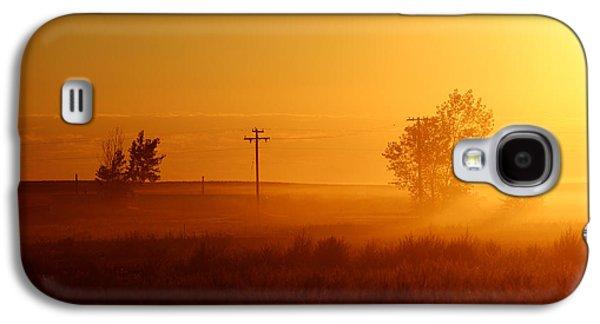 Misty Sunny Morning Galaxy S4 Case by Todd Klassy
