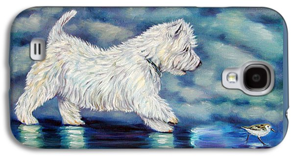 Misty - West Highland Terrier Galaxy S4 Case by Lyn Cook