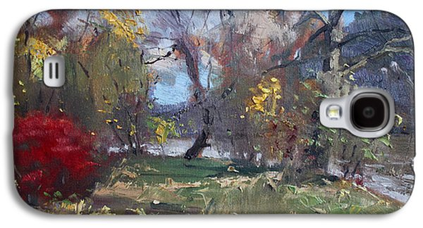 Mixed Weather In A Fall Afternoon Galaxy S4 Case by Ylli Haruni