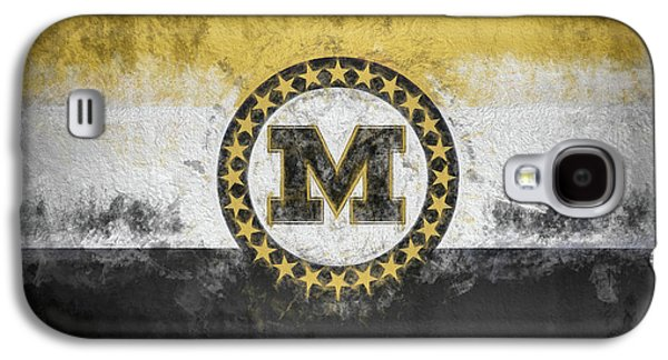 Galaxy S4 Case featuring the digital art Mizzou State Flag by JC Findley