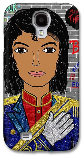 King Of Pop Galaxy S4 Case by Mallory Blake