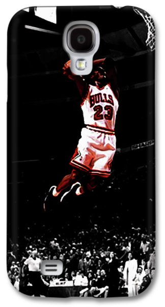 Mj Rises Galaxy S4 Case by Brian Reaves