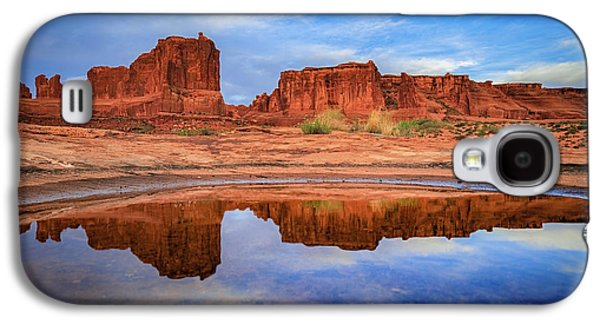 Moab Reflections Galaxy S4 Case by Edgars Erglis