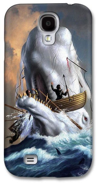 Moby Dick 1 Galaxy S4 Case by Jerry LoFaro