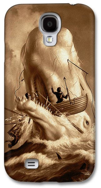 Moby Dick 2 Galaxy S4 Case by Jerry LoFaro
