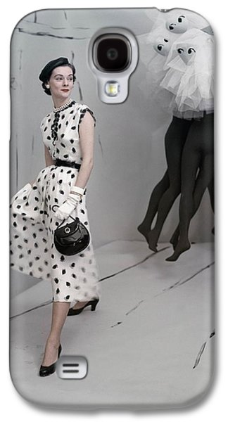 Ball Gown Galaxy S4 Cases - Model Standing In Set By Verts Wearing Galaxy S4 Case by Conde Nast