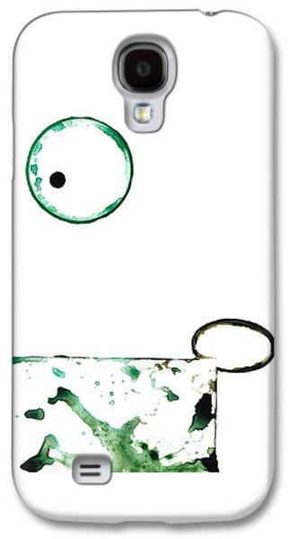 Modern Art - Balancing Act 1 - Sharon Cummings Galaxy S4 Case