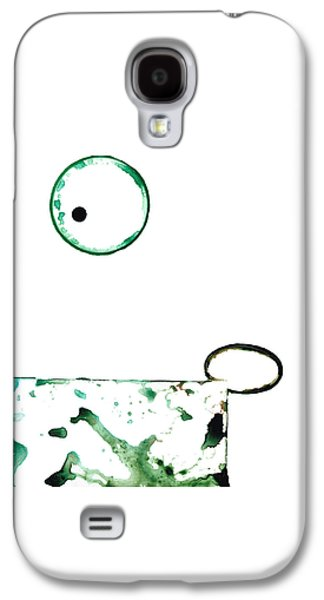 Modern Art - Balancing Act 1 - Sharon Cummings Galaxy S4 Case by Sharon Cummings