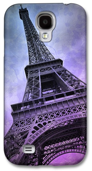 Modern Art Paris Eiffel Tower  Galaxy S4 Case by Melanie Viola