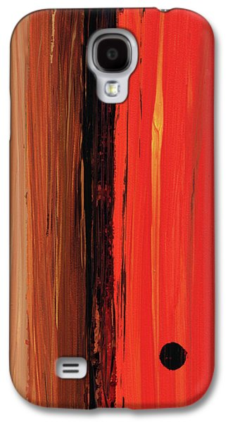 Modern Art - The Power Of One Panel 1 - Sharon Cummings Galaxy S4 Case by Sharon Cummings