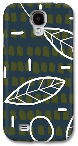 Modern Leaves Galaxy S4 Case by Christina Steward