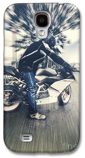 Modern Motorcyclists Galaxy S4 Case by Jorgo Photography - Wall Art Gallery