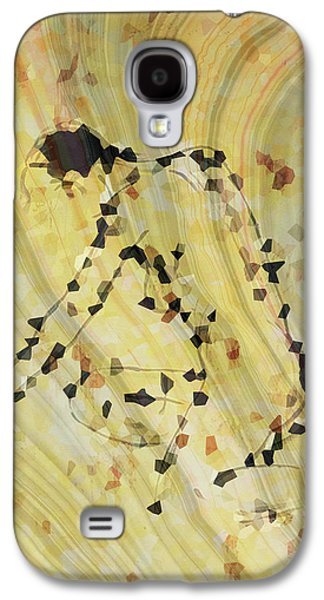 Modern Nude Art 2 By Sharon Cummings Galaxy S4 Case by Sharon Cummings