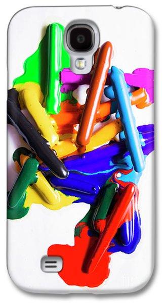 Modern Rainbow Art Galaxy S4 Case