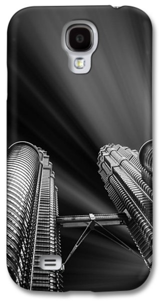 Modern Skyscraper Black And White Picture Galaxy S4 Case by Stefano Senise