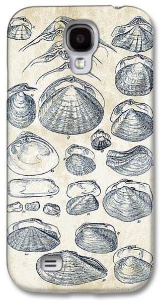 Mollusks - 1842 - 04 Galaxy S4 Case by Aged Pixel