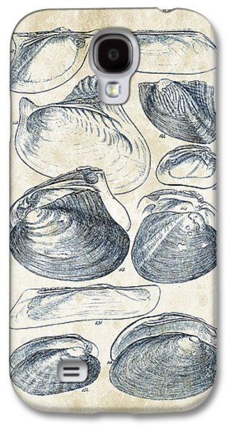 Mollusks - 1842 - 08 Galaxy S4 Case by Aged Pixel