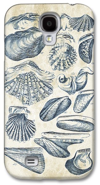 Mollusks - 1842 - 09 Galaxy S4 Case by Aged Pixel