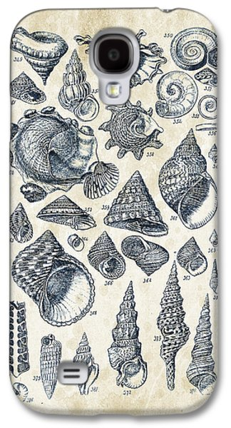 Mollusks - 1842 - 16 Galaxy S4 Case by Aged Pixel
