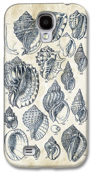 Mollusks - 1842 - 19 Galaxy S4 Case by Aged Pixel