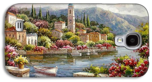 Moltrasio, Lake Como Galaxy S4 Case by Lucio Campana