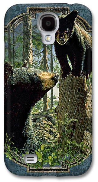 Bear Galaxy S4 Case - Mom And Cub Bear by JQ Licensing