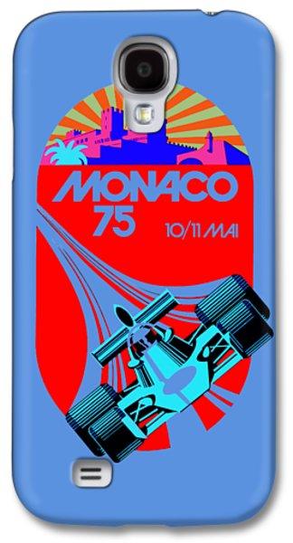 Sports Photographs Galaxy S4 Cases - Monaco 1975 Galaxy S4 Case by Mark Rogan