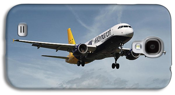 Monarch Airlines Airbus A320-214 Galaxy S4 Case