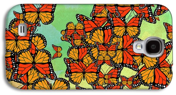 Monarch Butterflies Galaxy S4 Case by Gaspar Avila