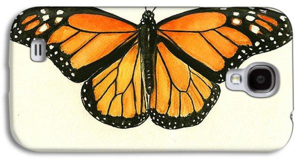 Monarch Butterfly Galaxy S4 Case by Juan Bosco