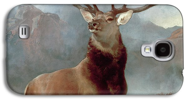 Monarch Of The Glen Galaxy S4 Case by Sir Edwin Landseer