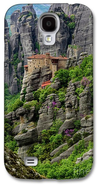 Monastery Of Saint Nicholas Of Anapafsas, Meteora, Greece Galaxy S4 Case