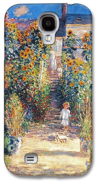 Monet: Garden/vetheuil Galaxy S4 Case