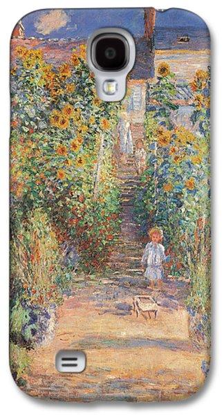 Monets Garden In Vetheuil Galaxy S4 Case