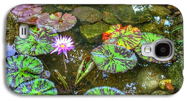Monet's Pond At The Fair Galaxy S4 Case by Jame Hayes